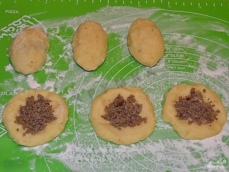 Картофельные рулеты в духовке - пошаговый рецепт