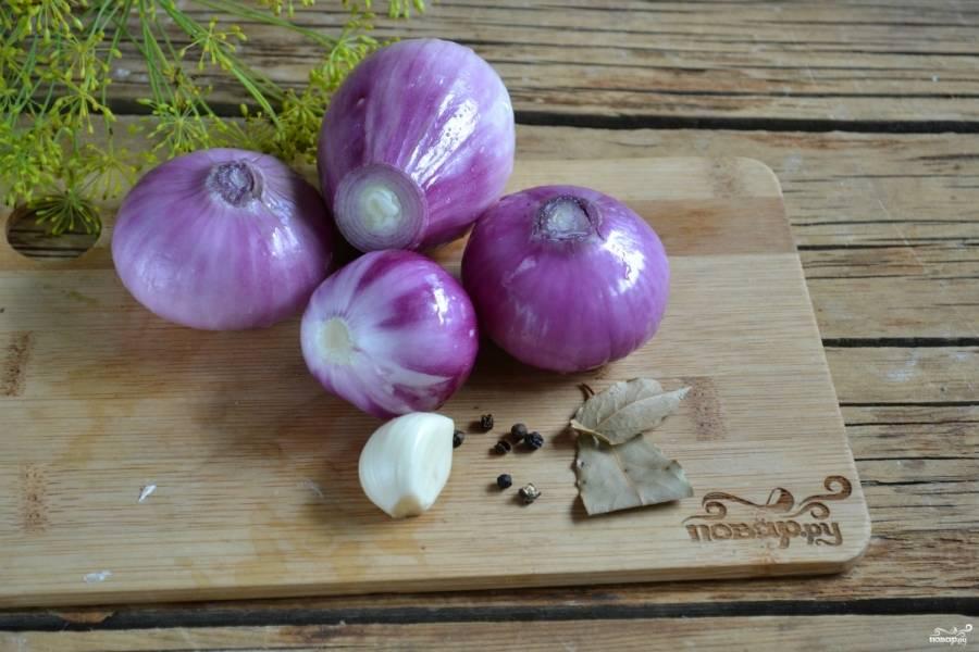 Красный лук на зиму - пошаговый рецепт с фото на