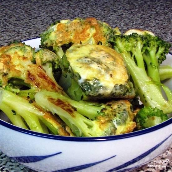 Жареная брокколи - пошаговый рецепт с фото на