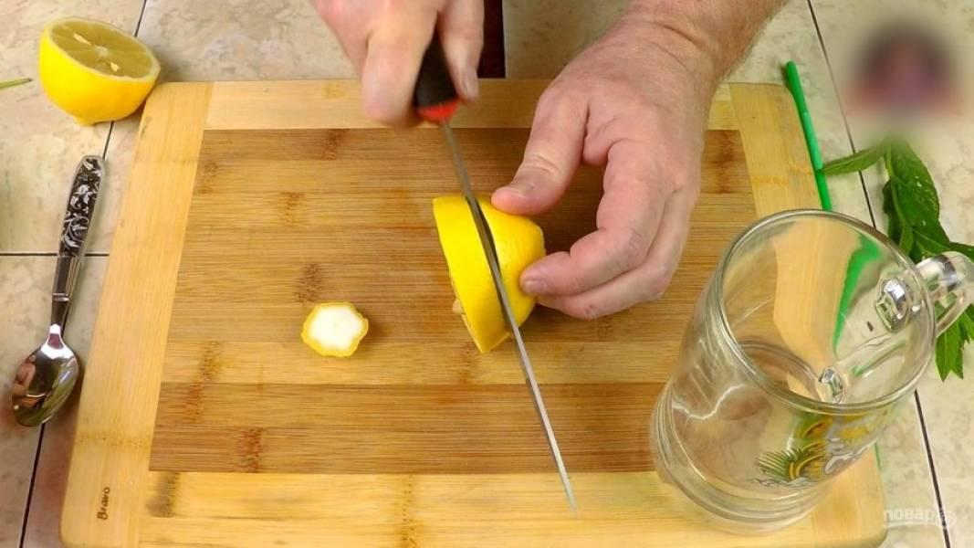 Домашний лимонад с мятой - пошаговый рецепт