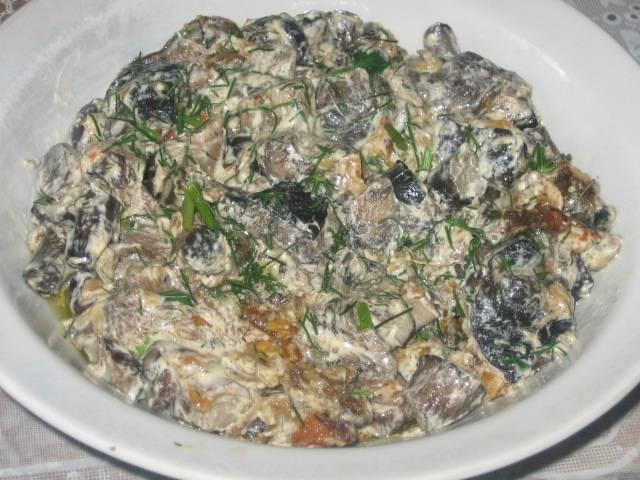 Тушеные подберезовики - пошаговый рецепт с фото на