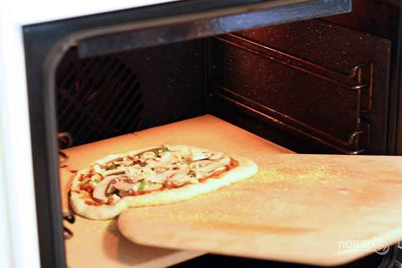 Пицца в духовке - пошаговый рецепт с фото на