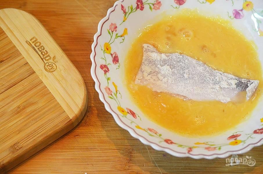 Рыбка в картофельной корочке - пошаговый рецепт
