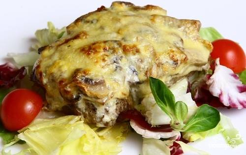 Мясо по-капитански в духовке