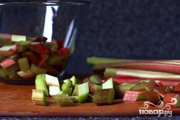 Тарталетки с ревенем - пошаговый рецепт с фото на