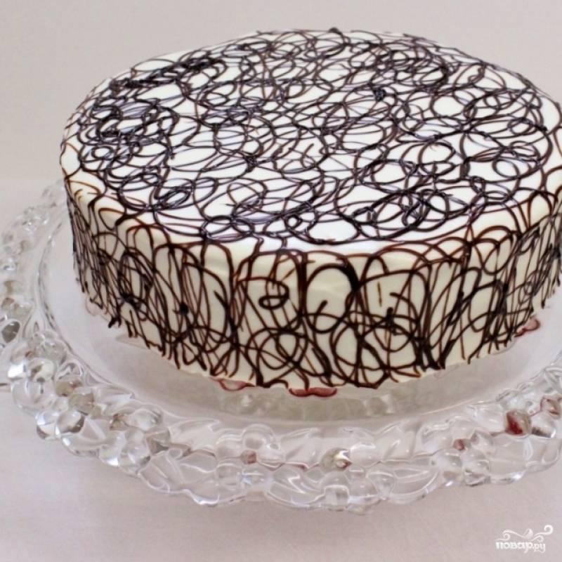 """19. Торт """"Дамские пальчики"""" вы можете украсить так, как вам хочется."""