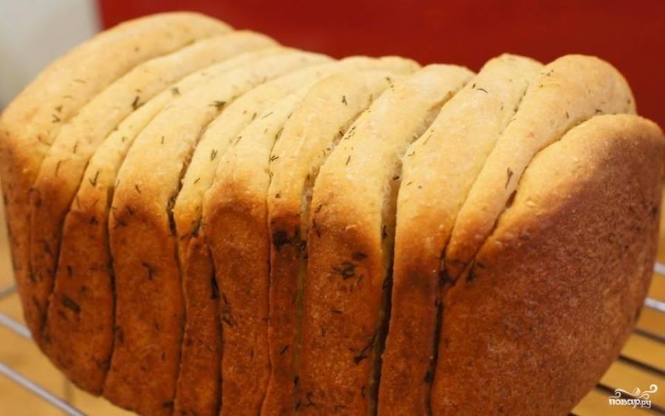Хлеб с чесноком - пошаговый рецепт с фото на