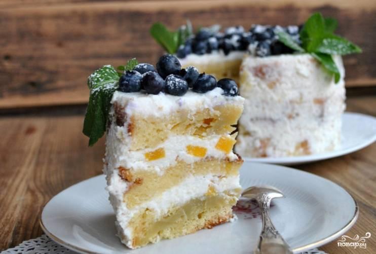 Торт на работу - пошаговый рецепт с фото на