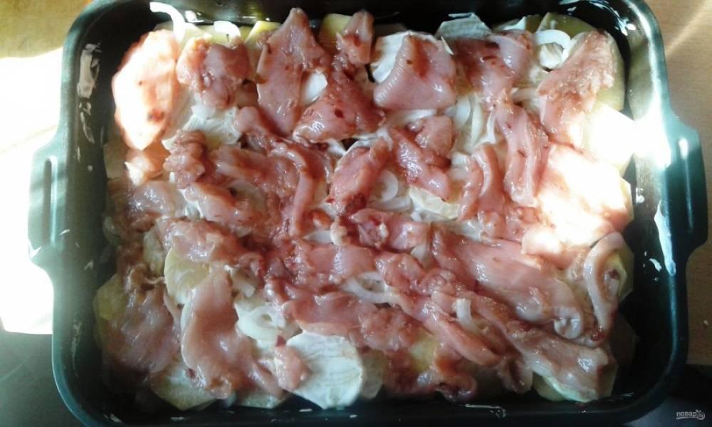 Лучший рецепт мяса по-французски с майонезом - Махеевъ - пошаговый рецепт