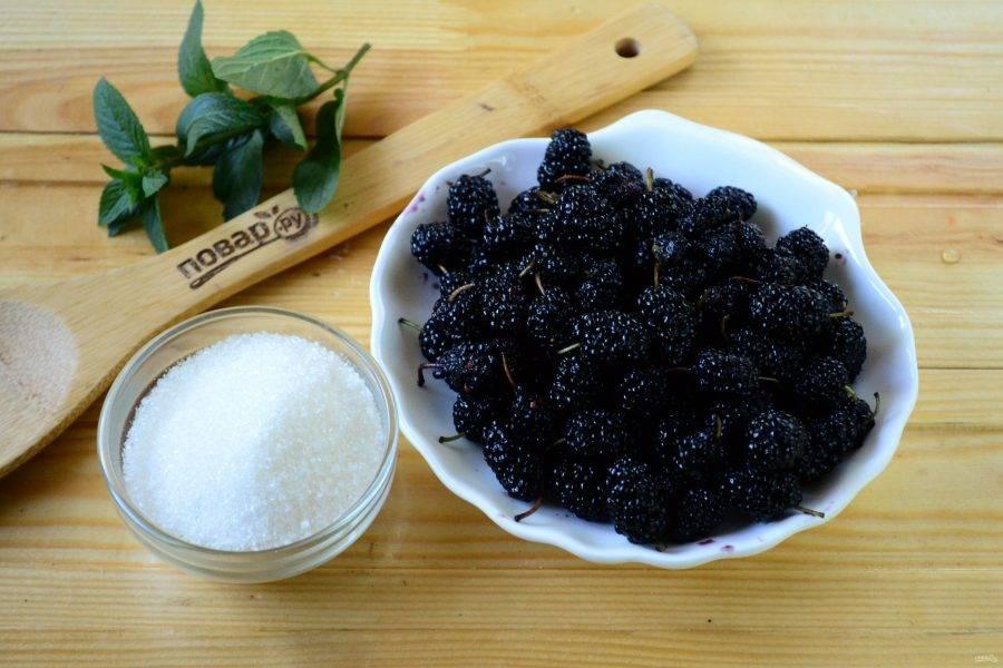Варенье из шелковицы на зиму - пошаговый рецепт с фото на