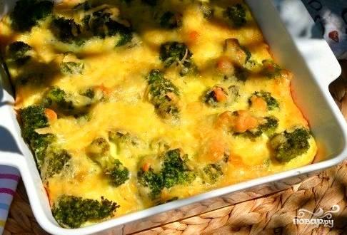 Брокколи с моцареллой - пошаговый рецепт с фото на