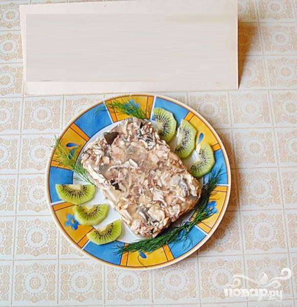 Заливное из голов толстолоба - пошаговый рецепт с фото на