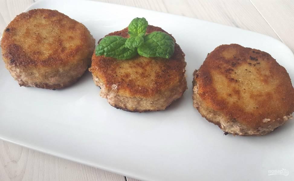 Вкусные котлеты из фарша рецепт пошагово без хлеба и картошки
