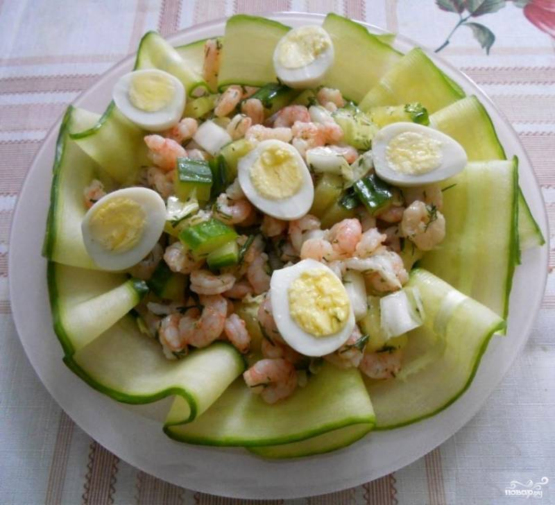 Салат для тарталеток рецепты с фото с креветками