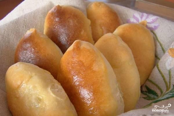 Пирожки на сыворотке