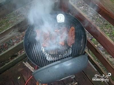 Мясо горячего копчения - пошаговый рецепт