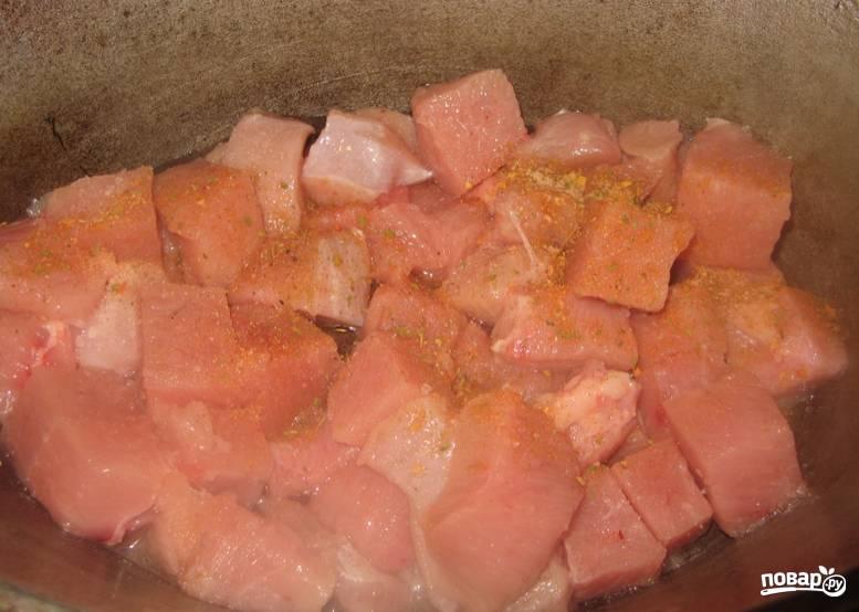 Азу из индейки - пошаговый рецепт