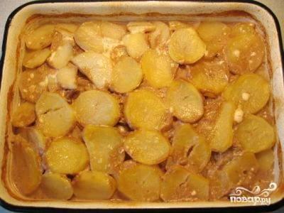 Говядина запеченная с картофелем - пошаговый рецепт с фото на