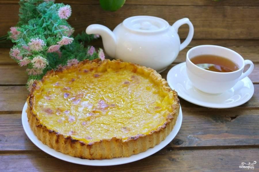 Лимонный пирог - пошаговый рецепт с фото на