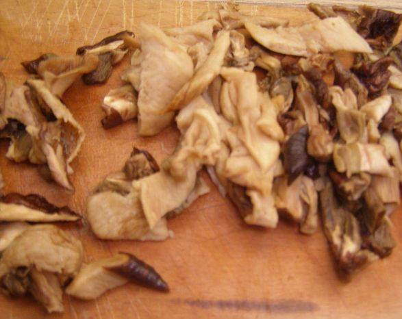 Грибная лапша из сушеных грибов - пошаговый рецепт