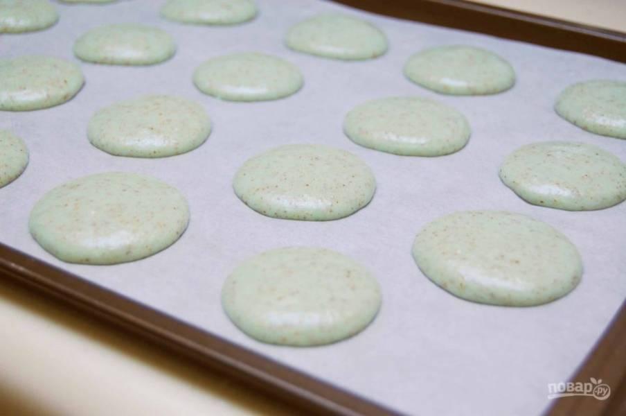 Мятные макароны - пошаговый рецепт
