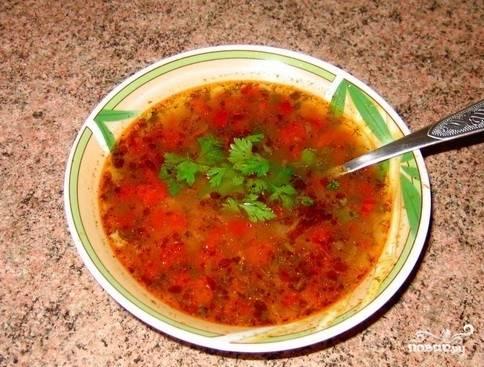 Харчо из говядины по-грузински - пошаговый рецепт с фото на
