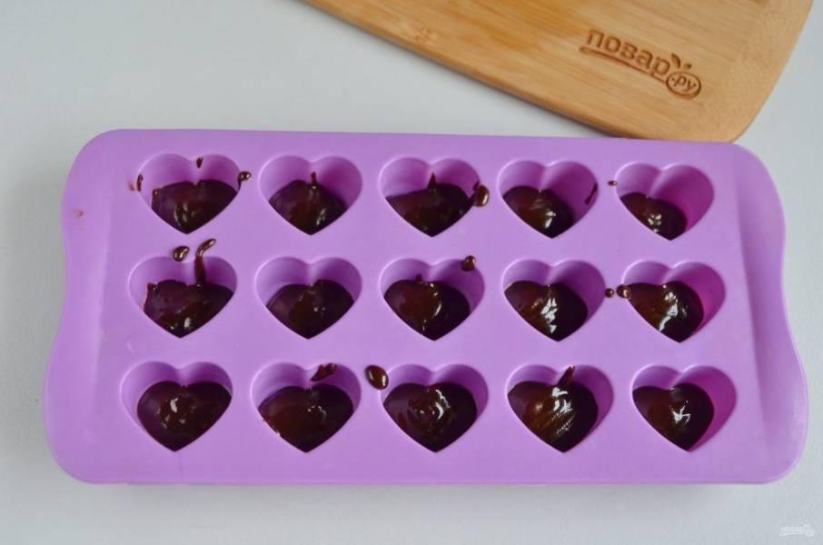 Конфеты - Чизкейк - в шоколаде - пошаговый рецепт с фото на