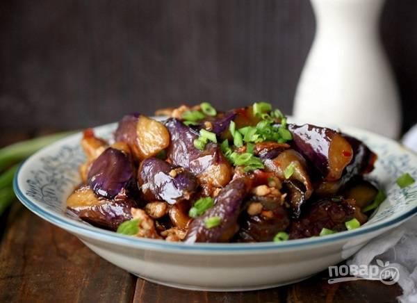 Тушеные баклажаны с мясом - пошаговый рецепт с фото на