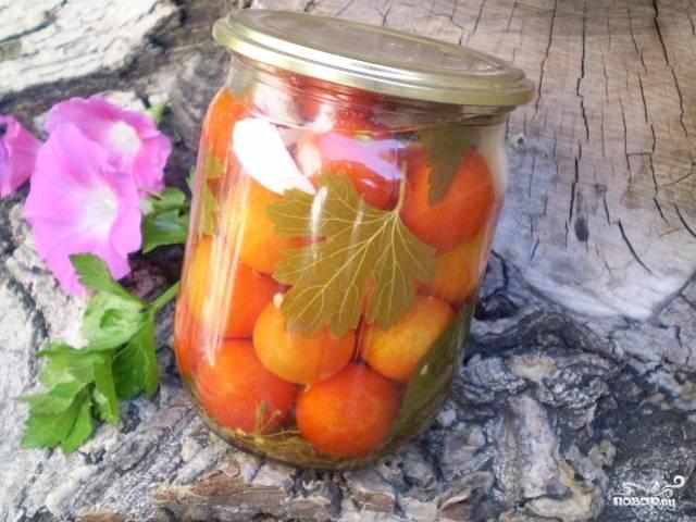 Закатка помидоров с лимонной кислотой