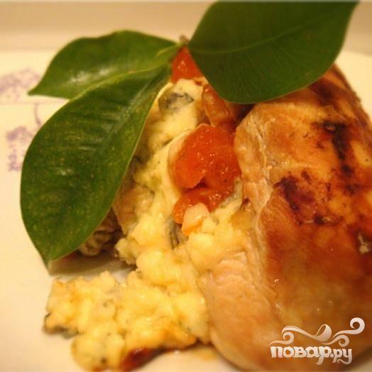 Куриная грудка - ЛЕДИ-КАПРИЗ - пошаговый рецепт с фото на