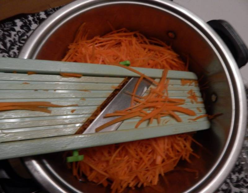 Корейская морковь - пошаговый рецепт
