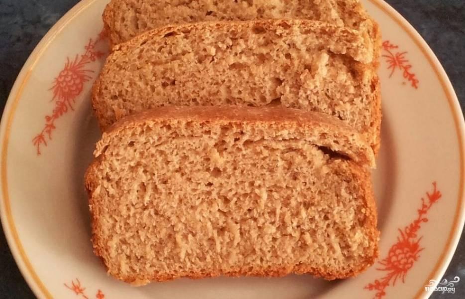 Хлеб по Дюкану в микроволновке