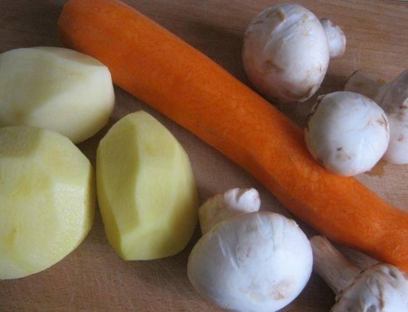 Запеканка с грибами - пошаговый рецепт