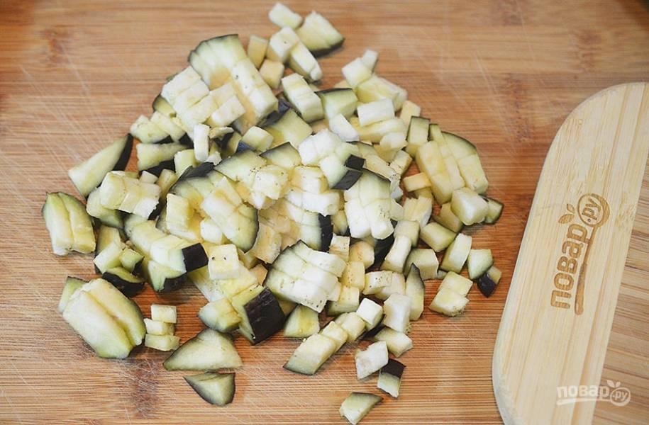 Лисички с баклажанами жареные - пошаговый рецепт с фото на