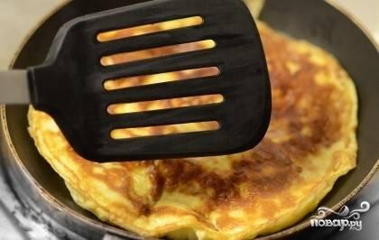 Омлет с козьим сыром - пошаговый рецепт