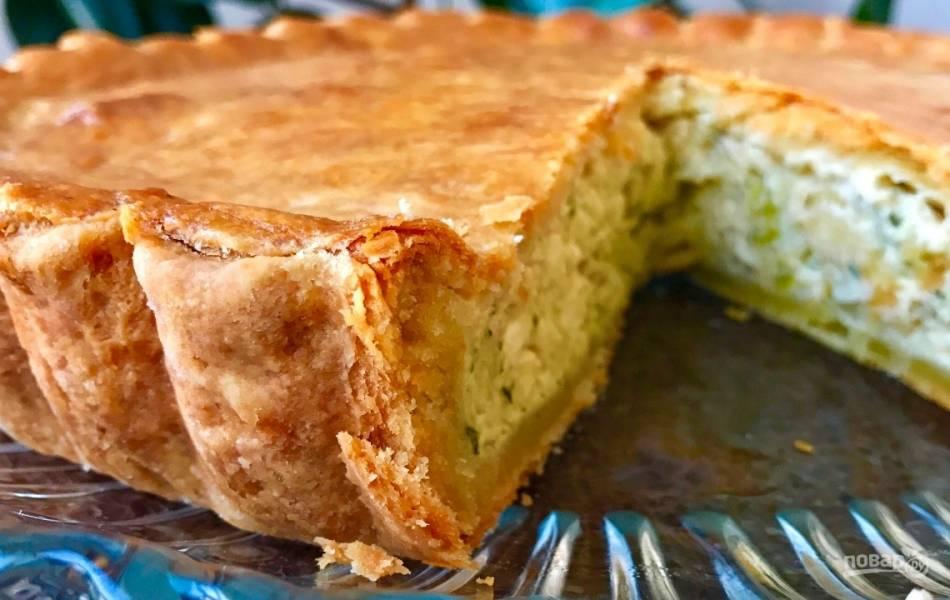 Луковый пирог (нереально вкусный)