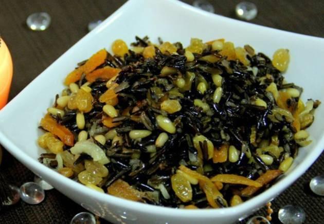 Салат из дикого риса - пошаговый рецепт