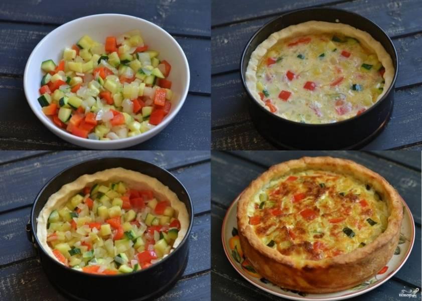 Пирог из картофельного теста - пошаговый рецепт