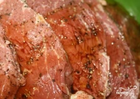 Мраморная говядина на мангале - пошаговый рецепт