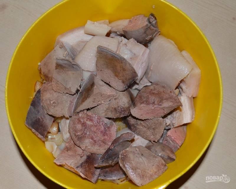 Ливерная колбаса - пошаговый рецепт с фото на