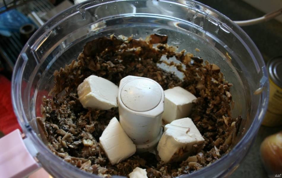 Паштет из грибов - пошаговый рецепт