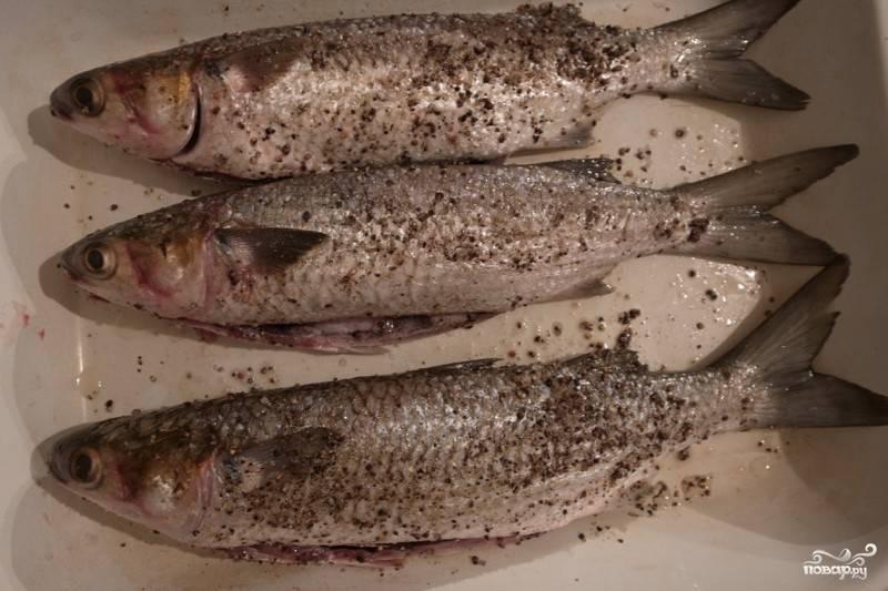 Кефаль на мангале - пошаговый рецепт с фото на