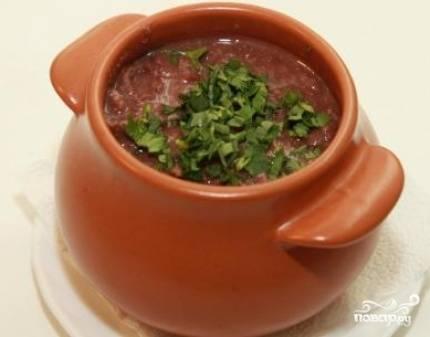 Красная фасоль в горшочке - пошаговый рецепт с фото на