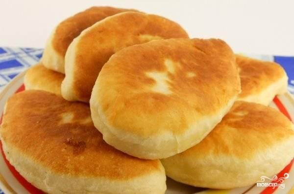 Пирожки дрожжевые - пошаговый рецепт