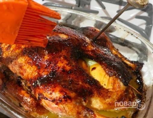 Фаршированная утка с ананасом - пошаговый рецепт с фото на