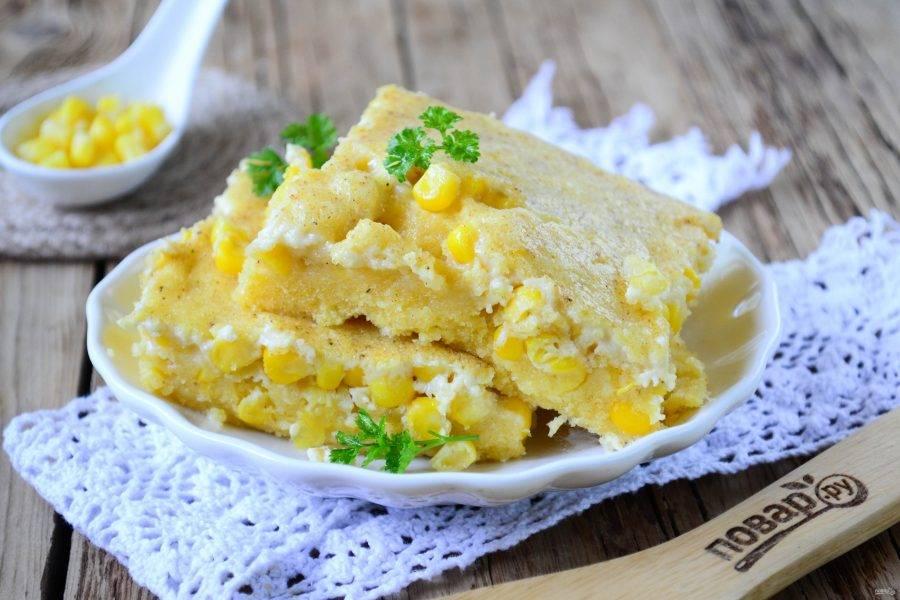 Кукурузный пудинг - Южный - пошаговый рецепт с фото на