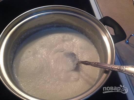Манная каша с медом - пошаговый рецепт