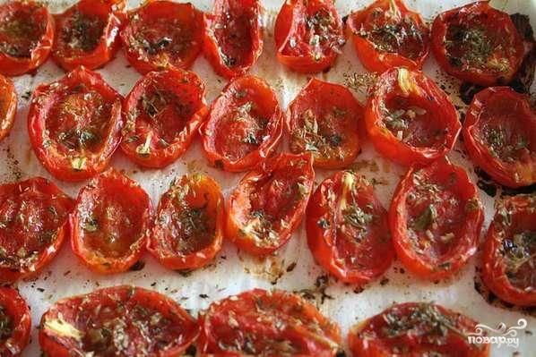 Запеченные помидоры - пошаговый рецепт с фото на