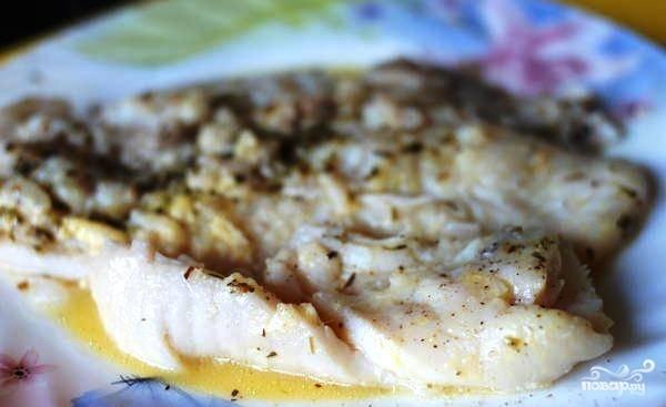Филе пангасиуса в соусе