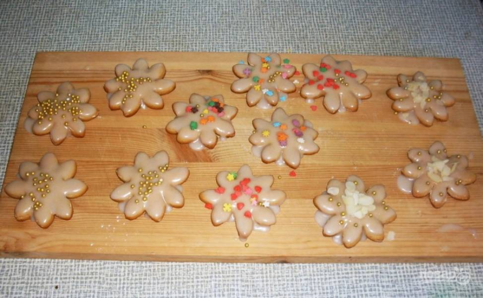 Рождественское печенье с имбирем - пошаговый рецепт с фото на
